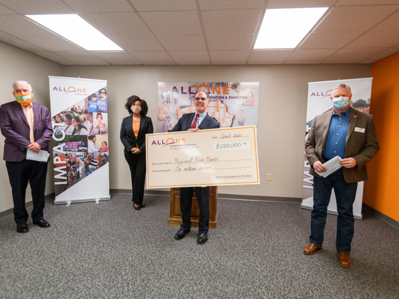 AllOne Foundation announces major food security grant